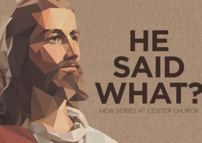 HE SAID WHAT?!: Allyship by Dr. Carlos Smith